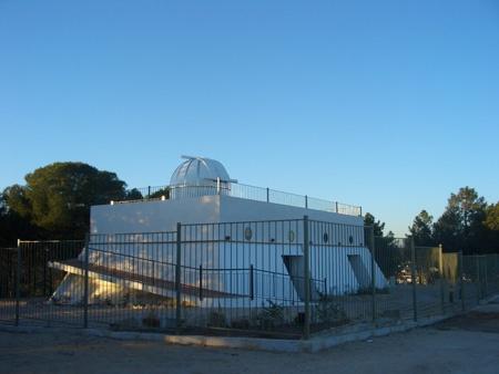 Foto del mirador astronómico