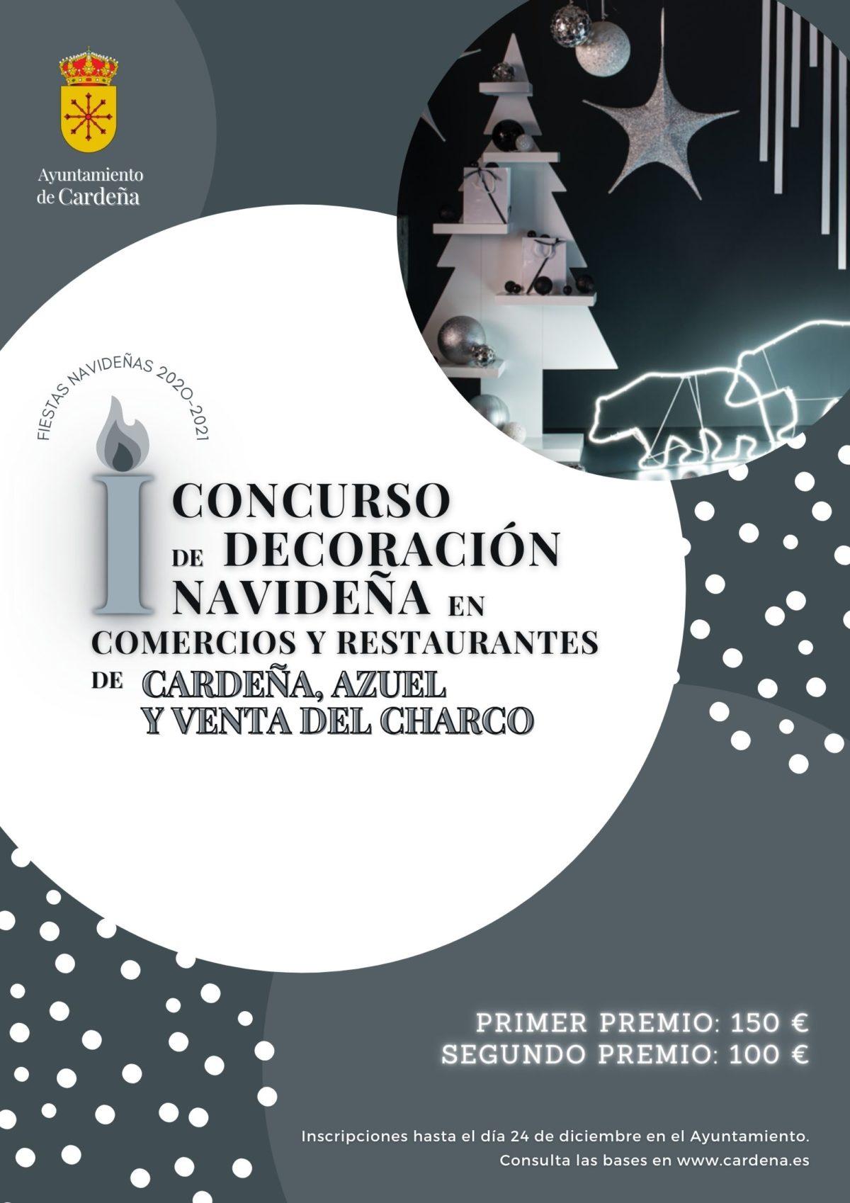 I CONCURSO DE DECORACIÓN NAVIDEÑA DE FACHADAS Y ESCAPARATES DE COMERCIOS Y RESTAURANTES