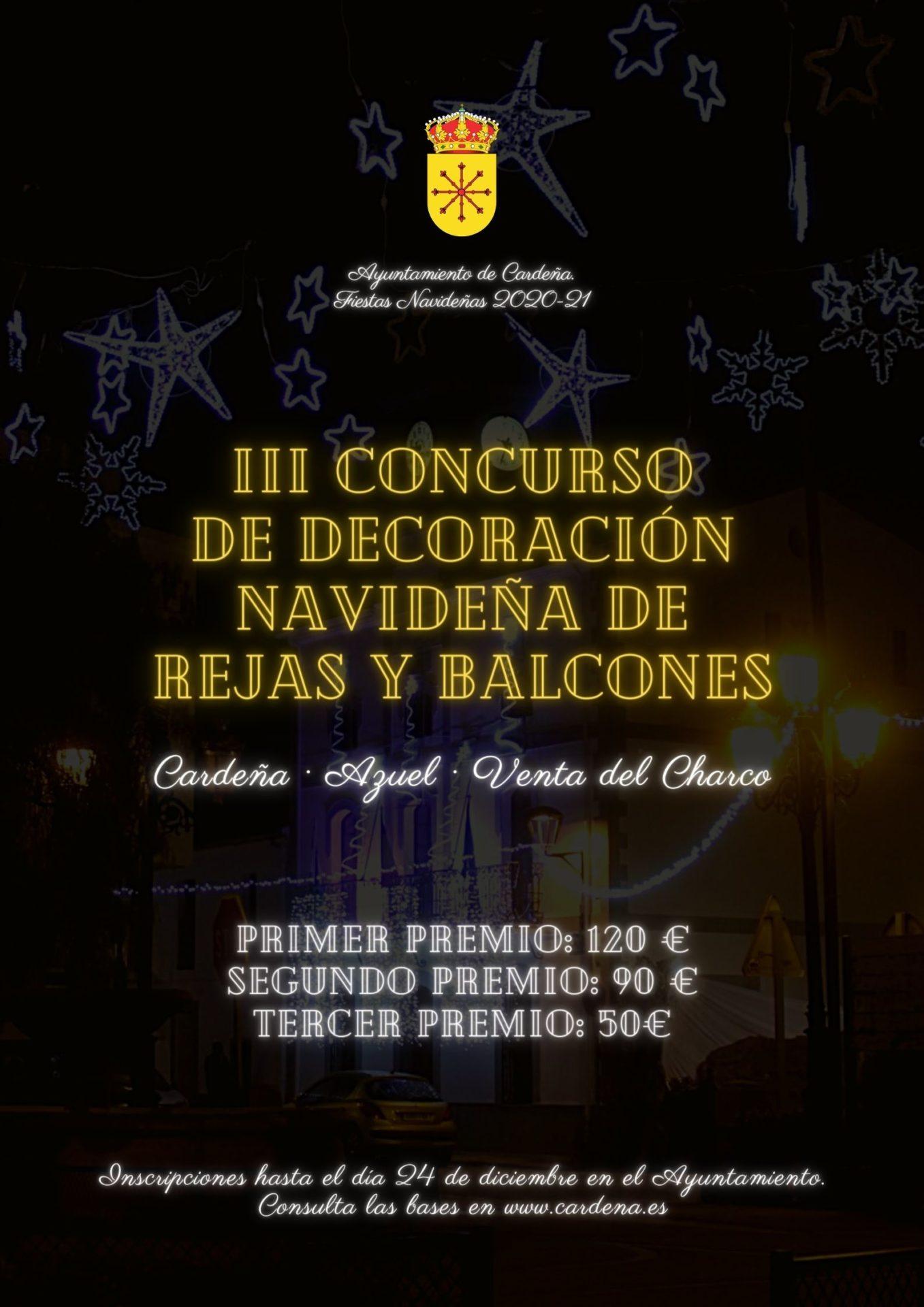 III CONCURSO DE DECORACIÓN NAVIDEÑA DE REJAS Y BALCONES