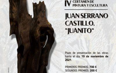 "IV CERTAMEN DE PINTURA Y ESCULTURA JUAN SERRANO CASTILLO ""JUANITO"""