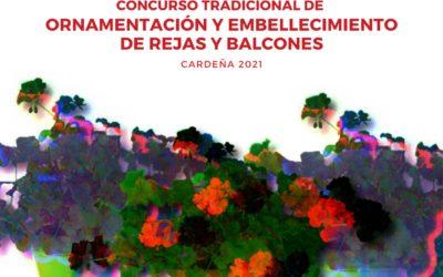 CONCURSO DE ORNAMENTACIÓN Y EMBELLECIMIENTO DE REJAS Y BALCONES DE CARDEÑA 2021